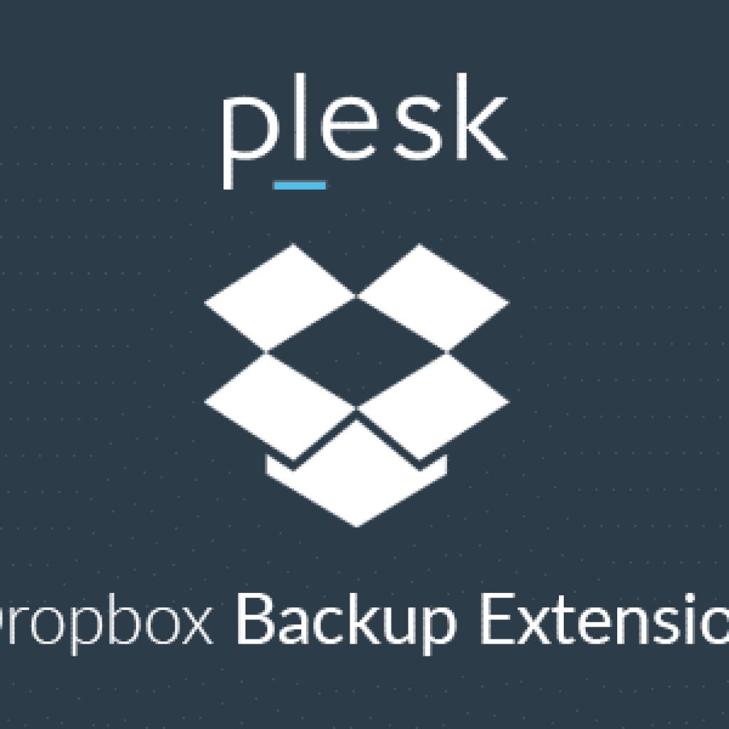 Dropbox Backup Extension - Plesk