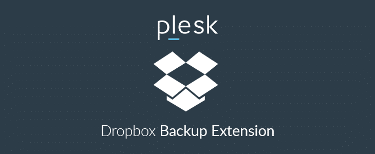 Plesk Dropbox Backup Extension