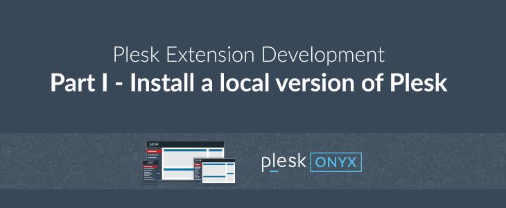 Install Plesk locally on VirtualBox