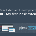 My First Plesk Extension
