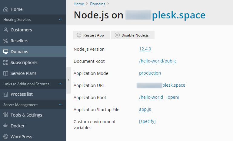 Enable Node.js Support