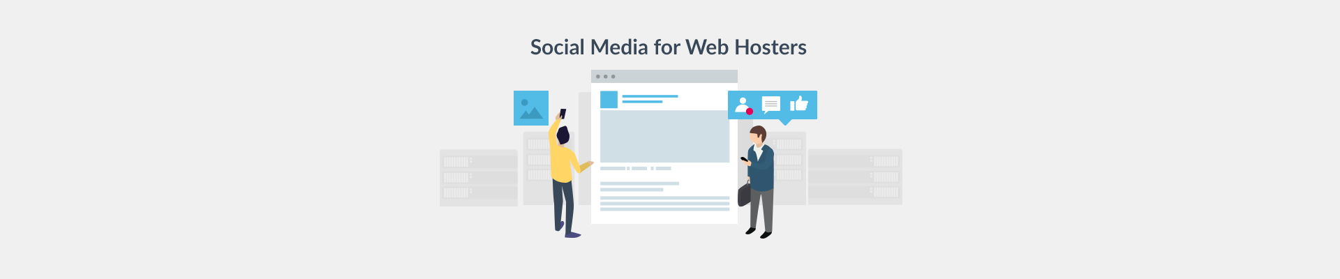 Social Media Tips For Web Hosting Industry