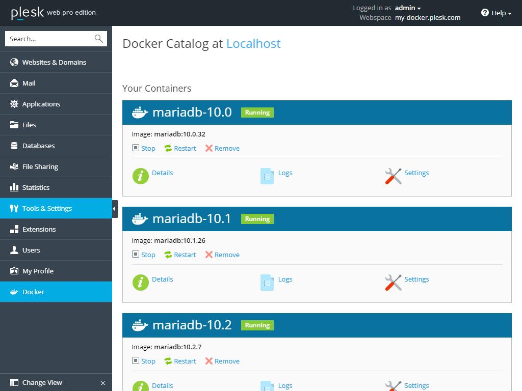 Let's talk about the Plesk Docker Extension | Plesk