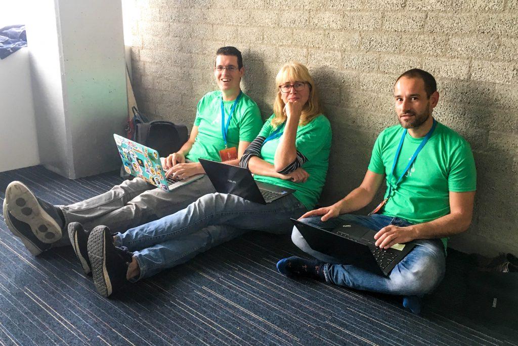 WordCamp Nijmegen, organizers, Taco Verdonschot, Anette van Haren, Louis Wolf