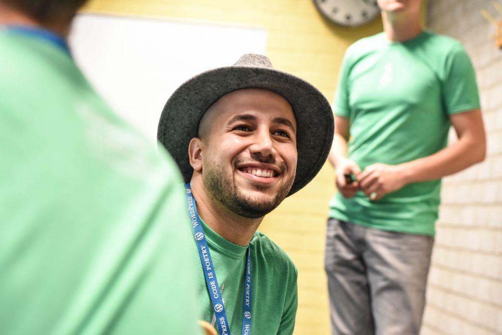 WordCamp Nijmegen, organizer and photographer Amir Fahimnia