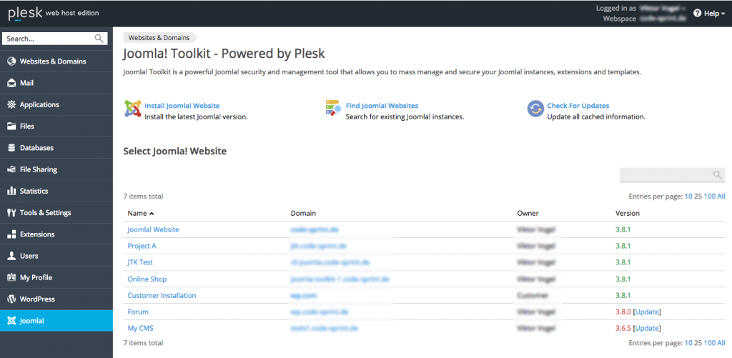 plesk-joomla-toolkit-overview