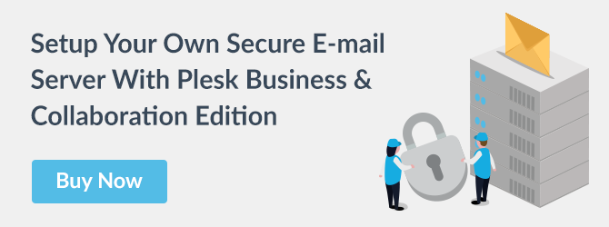 Plesk Secure E-mail Server Solution