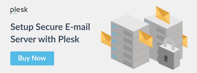 Plesk E-mail Server Solution