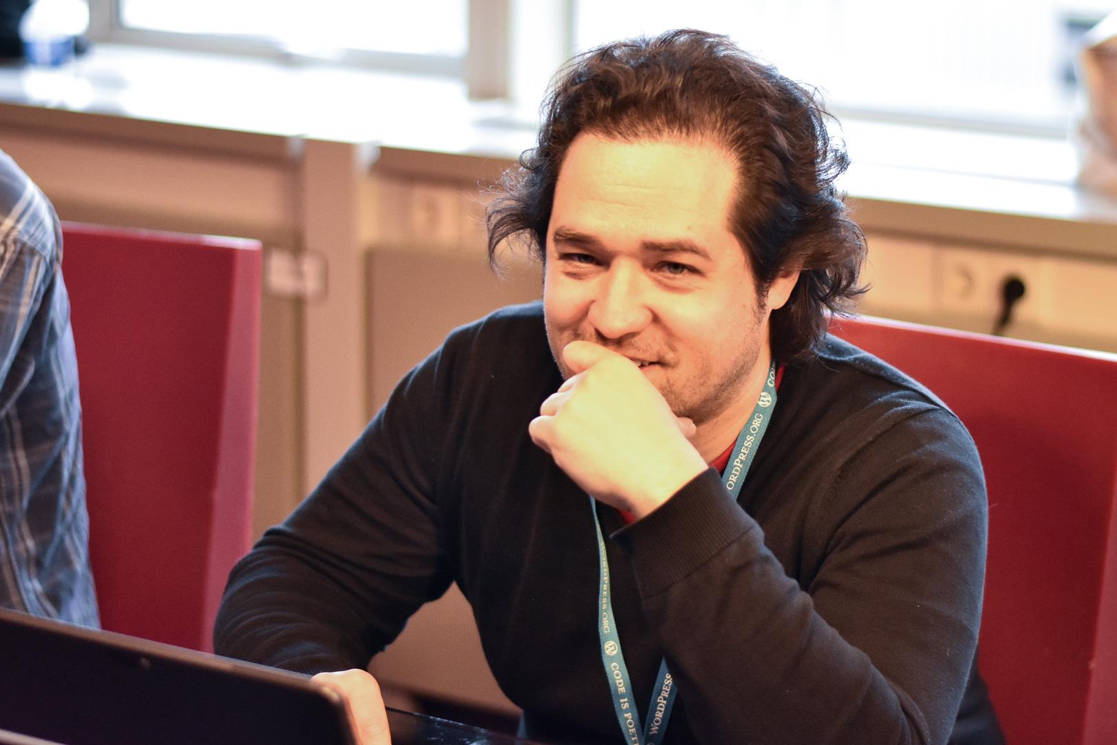 WordCamp Utrecht, Walter Ebert