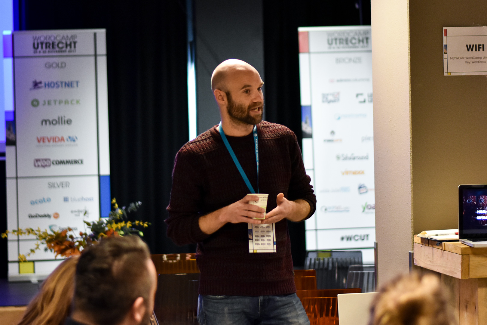 WordCamp Utrecht, Maik Gruppen, Savvii