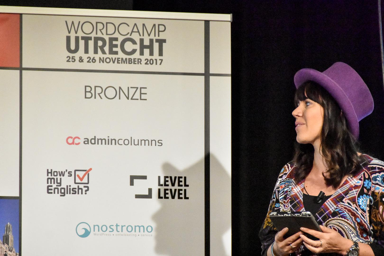 WordCamp Utrecht, Carole Olinger, speaker