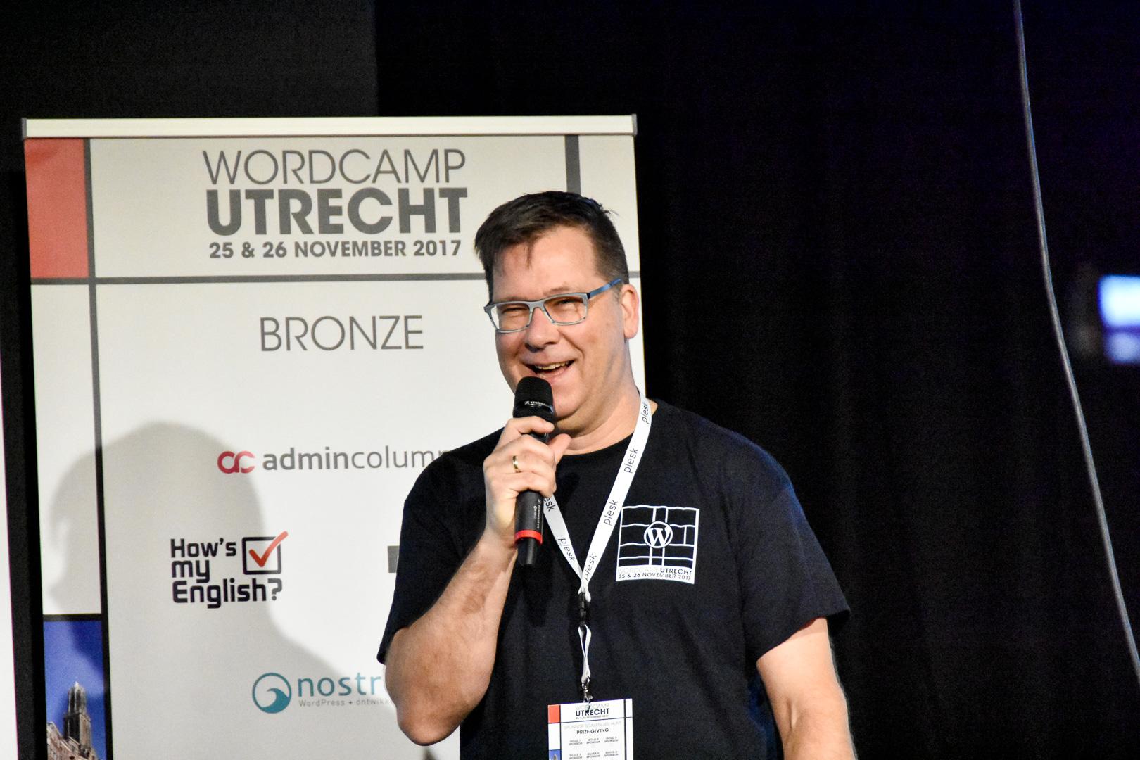 WordCamp Utrecht, Sjoerd Blom, opening remarks