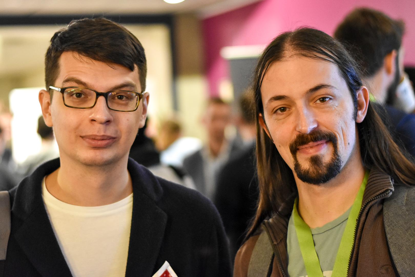 WordCamp Utrecht, Andrey Savchenko and Alain Schlesser