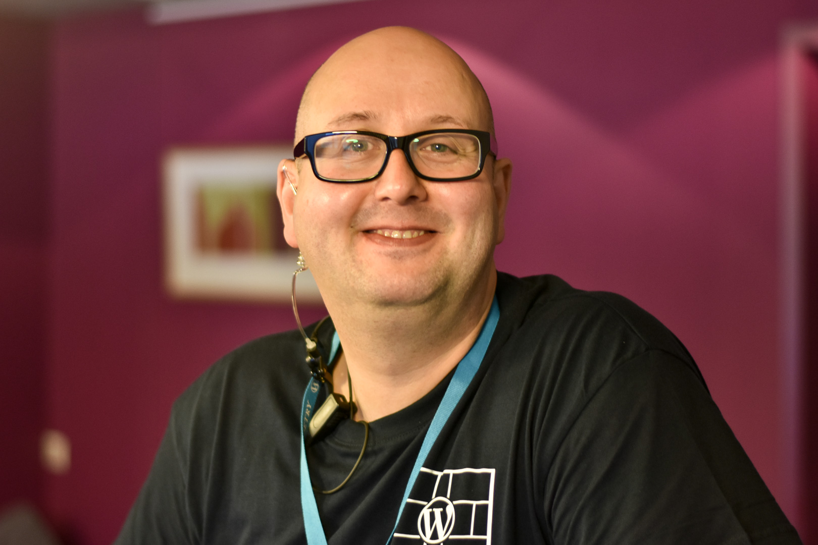 WordCamp Utrecht, organizer Berry van Es