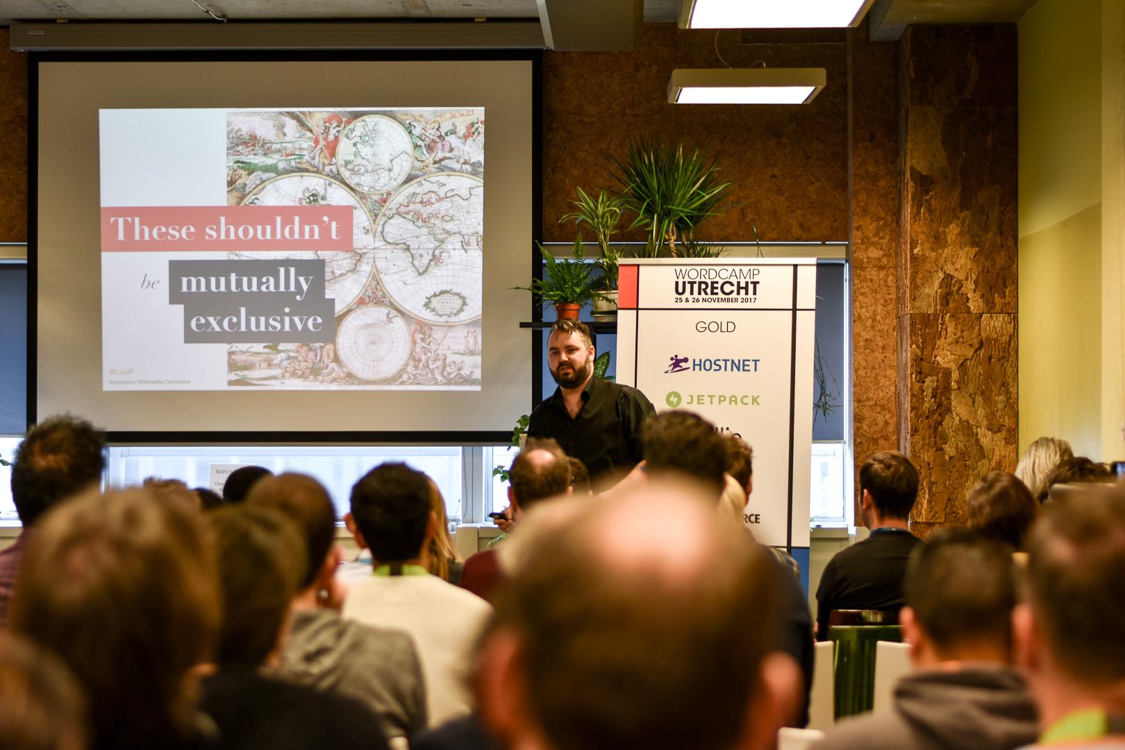 WordCamp Utrecht, Luc Princen, speaker