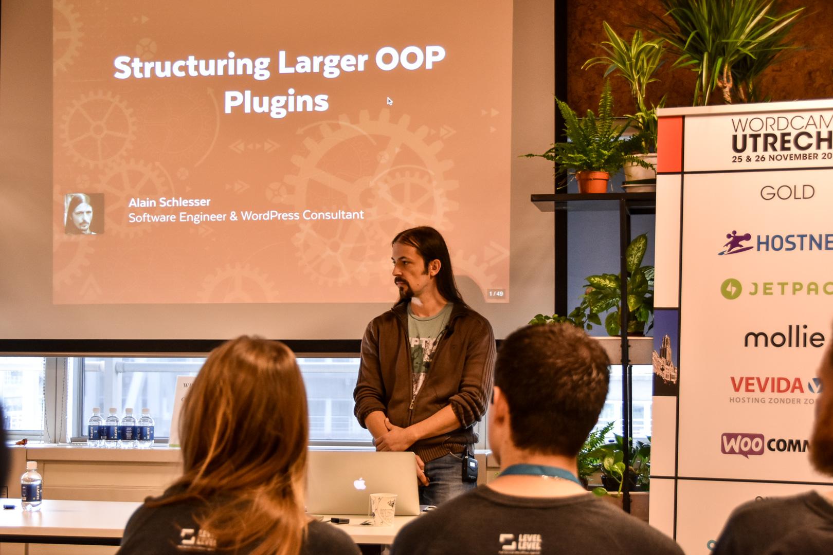 WordCamp Utrecht, Alain Schlesser, speaker