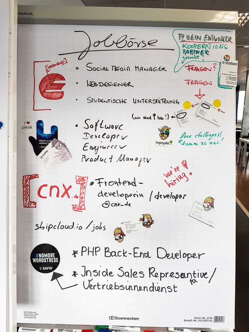 WordCamp Cologne, jobboard