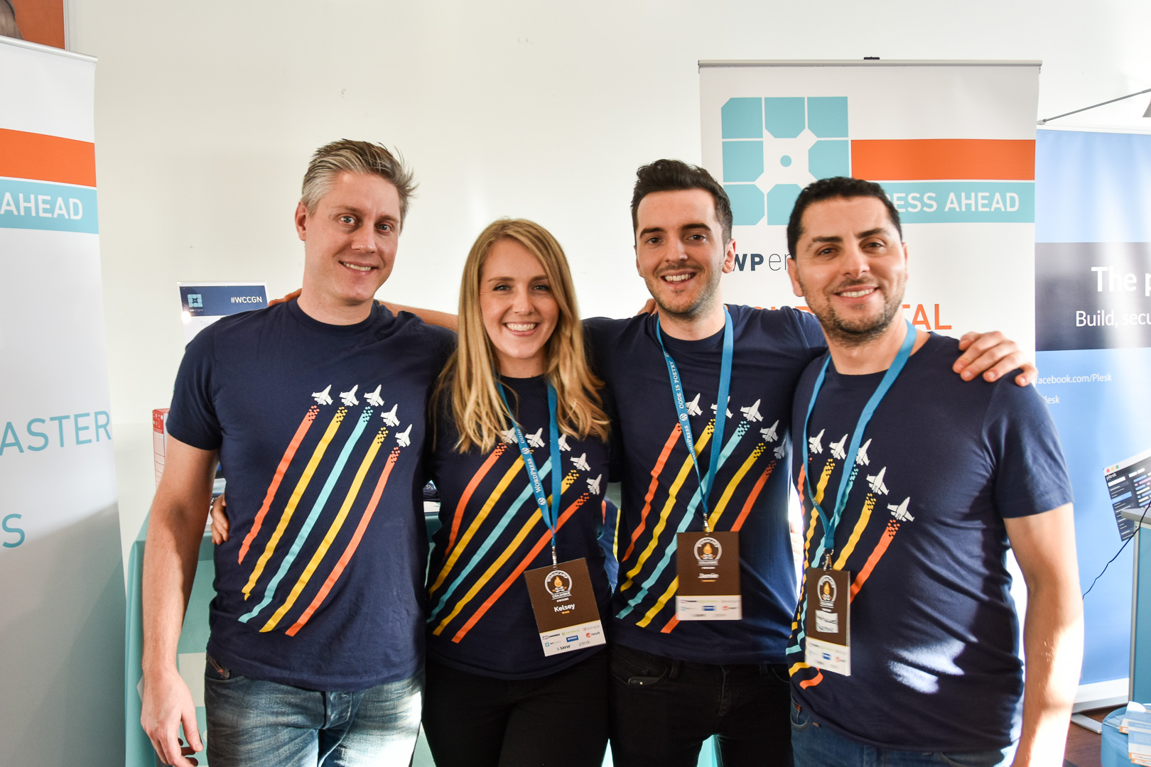 WordCamp Cologne, WP Engine crew