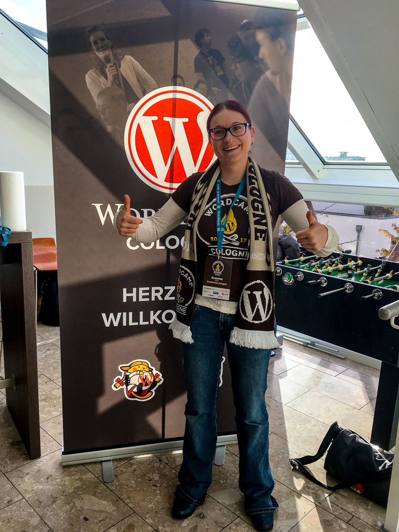 WordCamp Cologne, amazing Swag, Susanne Kasper style icone