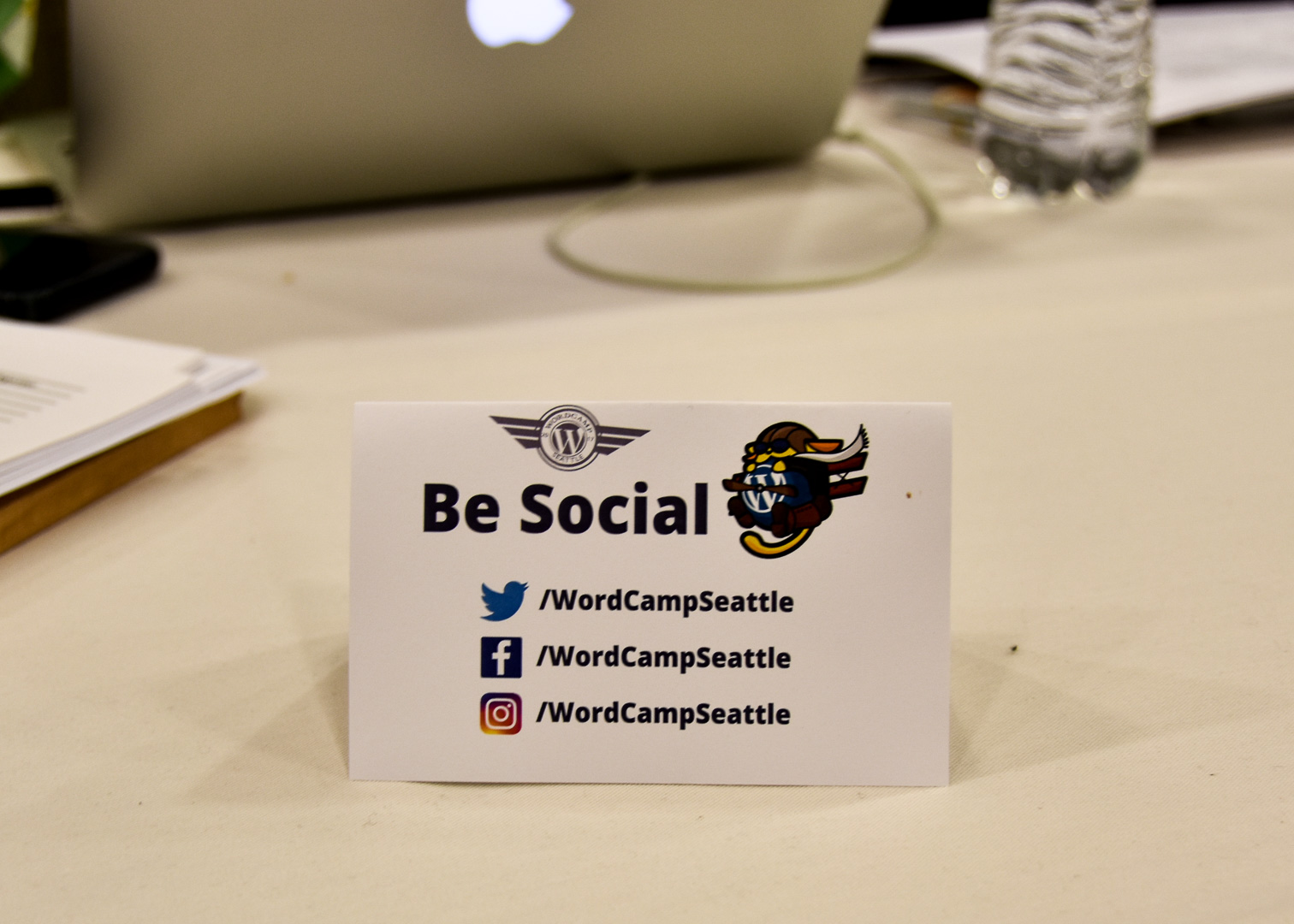 WordCamp Seattle, Be Social