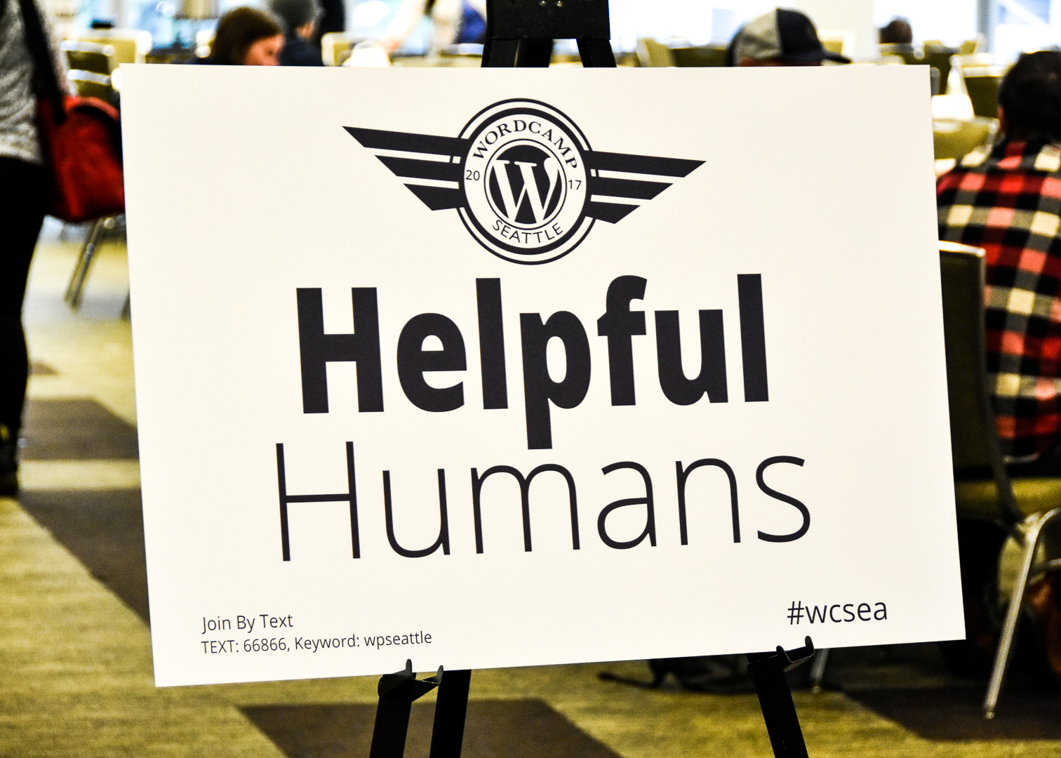 WordCamp Seattle, Helpful Humans aka Volunteers