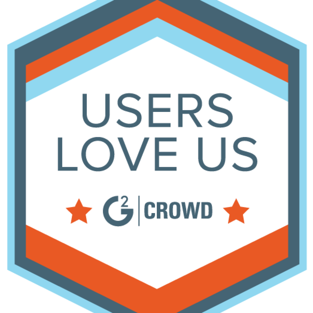 Plesk G2 Crowd Users Love Us Badge