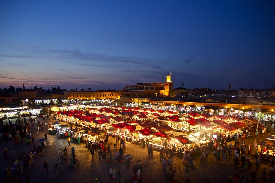 Marrakech - best cities for digital nomads