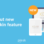 Kolab new roundcube responsive skin - Plesk extensions