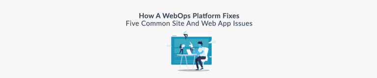 How a WebOps platform fixes 5 common issues - Plesk