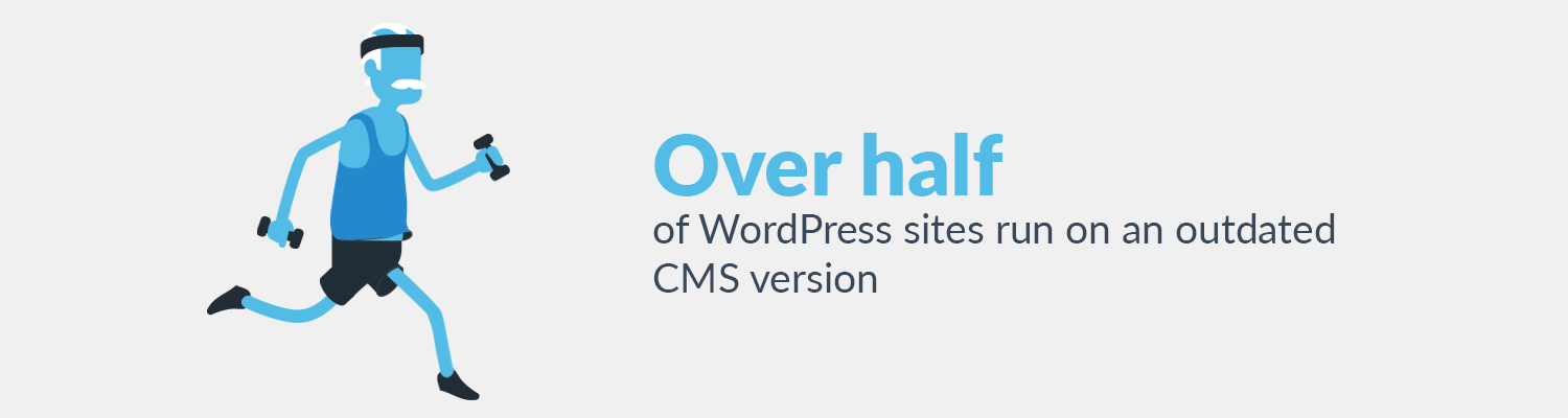 Over half of WordPress sites have outdated CMS version