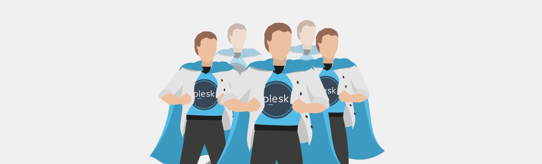 Plesk support engineers graduation