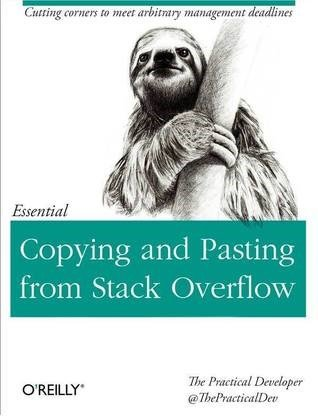 StackOverflow Copy-Pasting by O'Reilly
