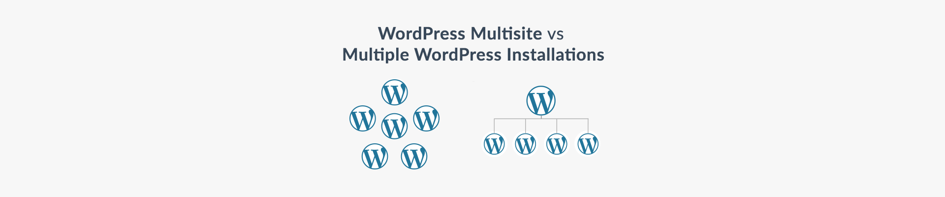 WordPress MultiSite vs Multiple WordPress instances - Plesk