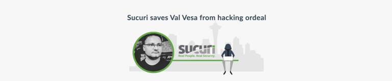 Sucuri saves Val Vesa from hacking ordeal - Plesk