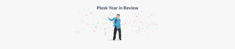 Plesk year in review 2018 - SM