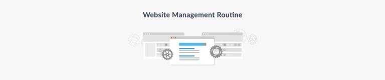 Website Management Routine Basics - Plesk Tips