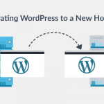 WordPress migration to a new web hosting