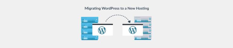 WordPress migration to a new web hosting