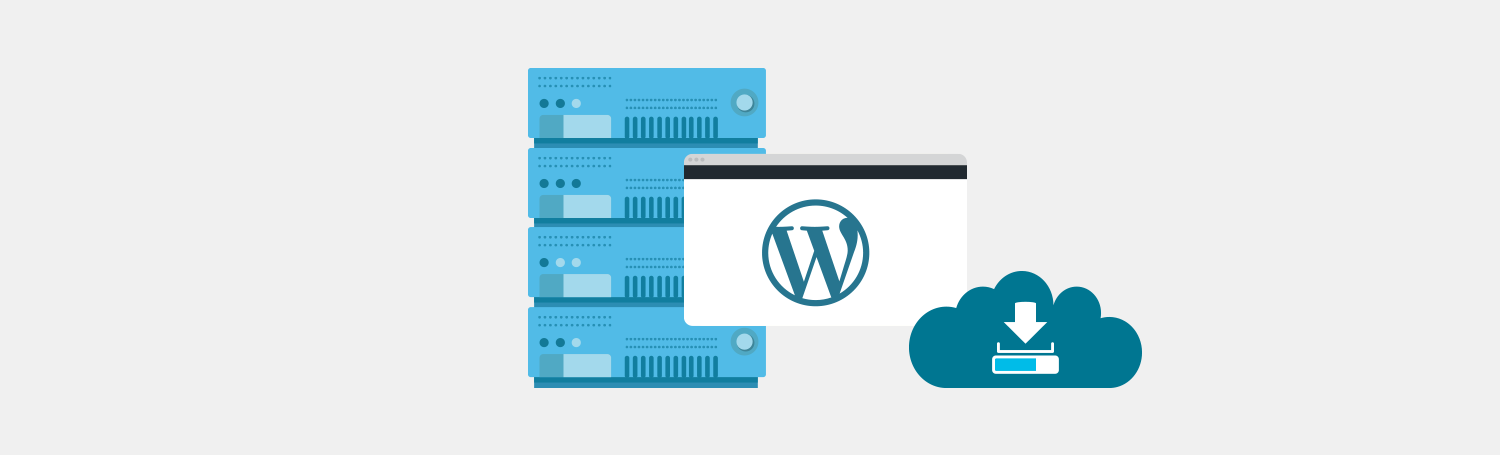 Backup and export before WordPress migration plesk