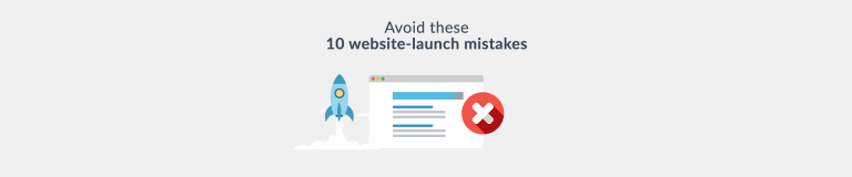 Website Launch Mistakes