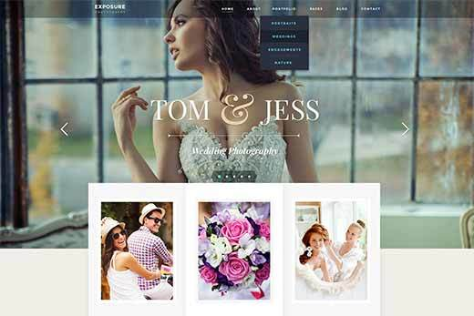 Exposure WP theme