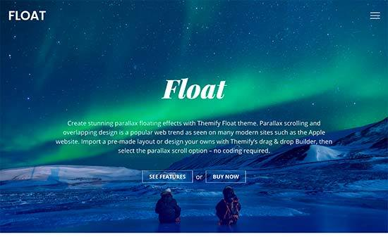 Float WordPress Responsive Theme