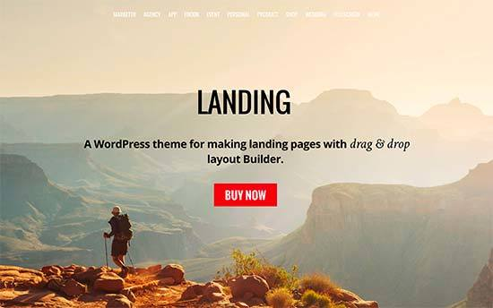 Landing - Responsive WordPress Theme