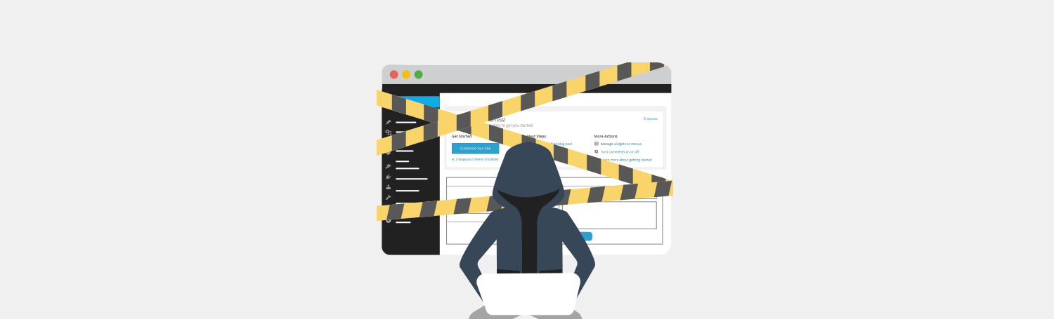HAckers could crash your WordPress - Plesk