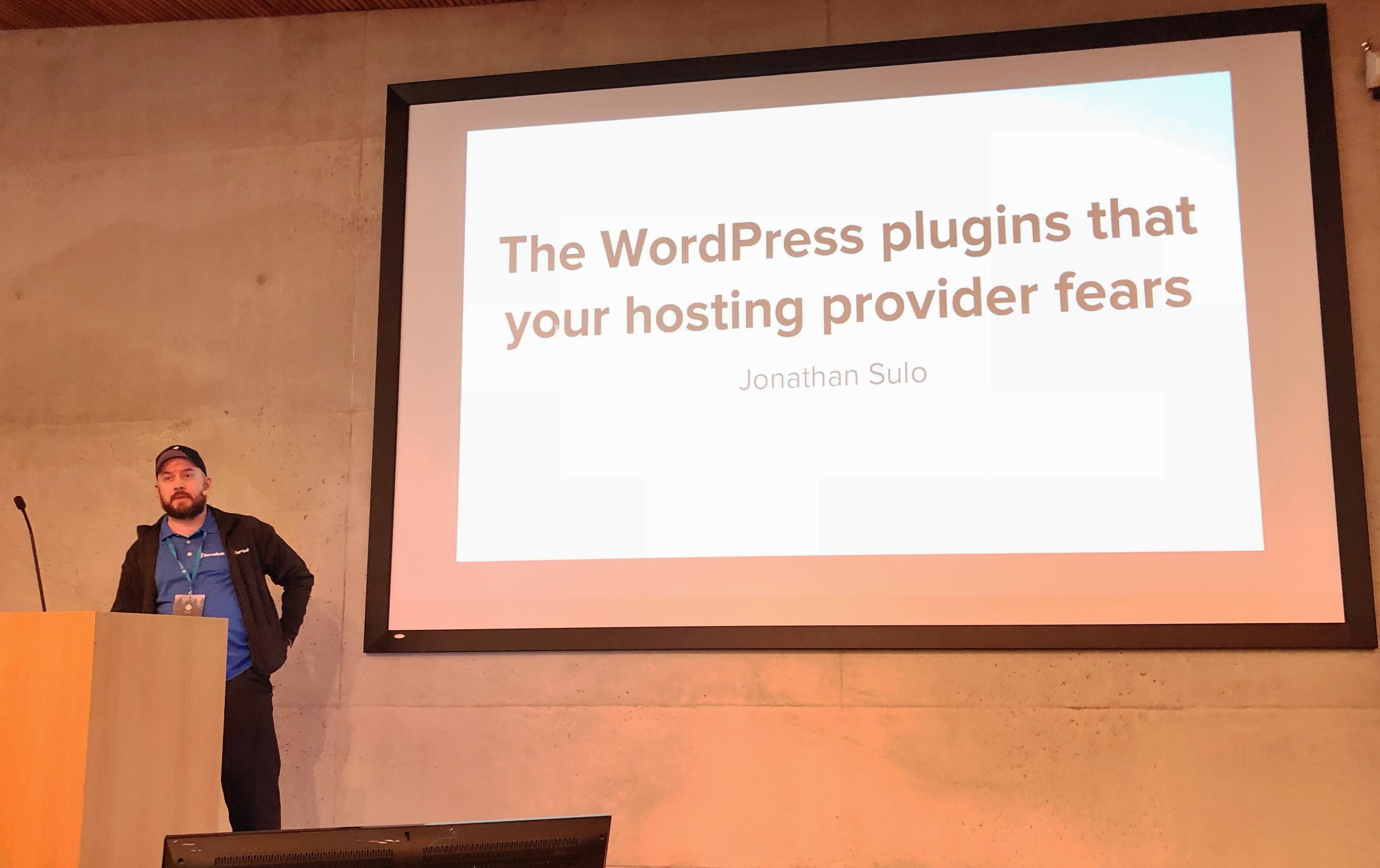 Plesk at WordCamp NOrdic, Finland - Jonathan Sulo
