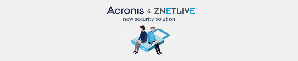 Acronis and ZNetLive join forces to offer new security solution - Plesk