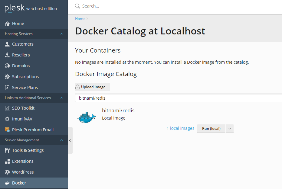 Running Redis with a Docker Container