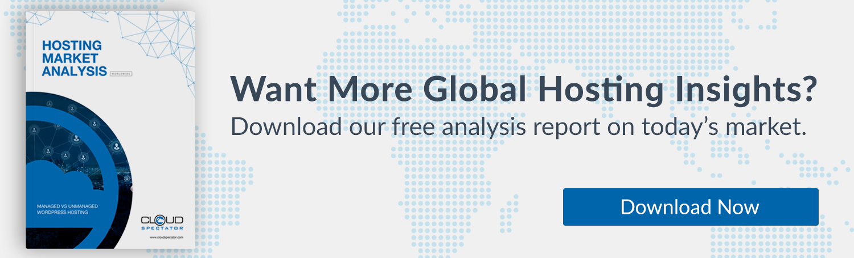 Cloud Spectator WordPress Hosting Analysis Report