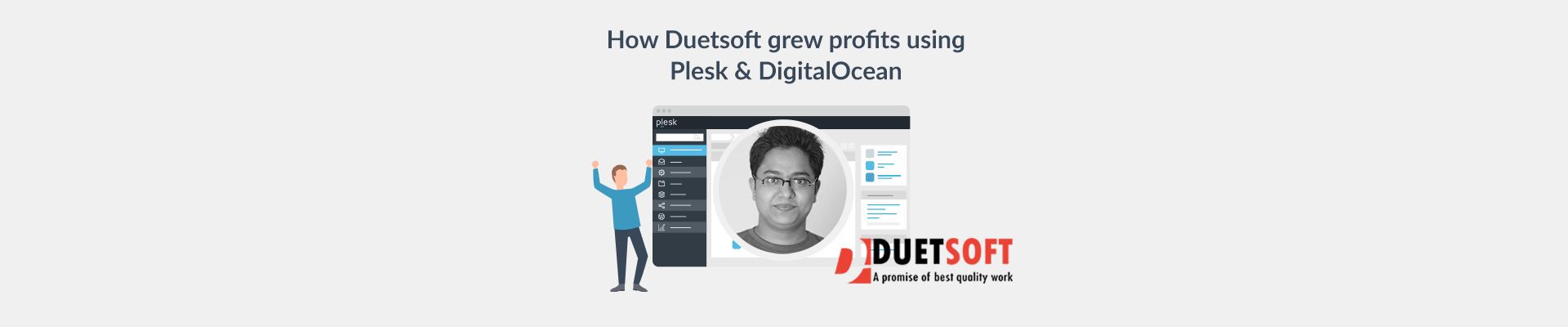 Duetsoft success story with Plesk and DigitalOcean - Plesk