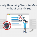 How to manually remove website malware
